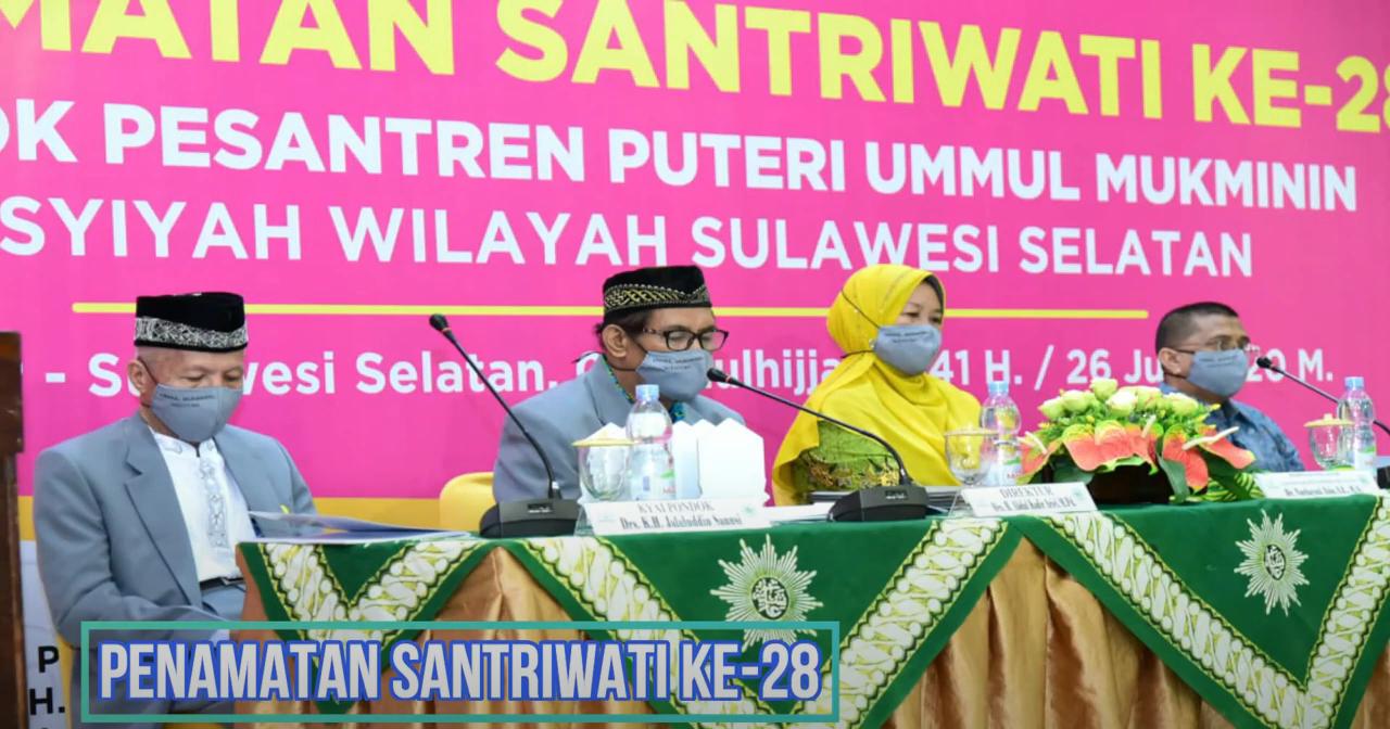 Kegiatan Pondok Pesantren Puteri Ummul Mukminin 'Aisyiyah Wilayah Sulawesi Selatan di Masa Pandemi